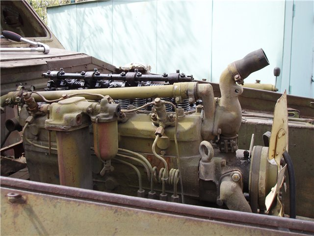 Двигатель БТР 152