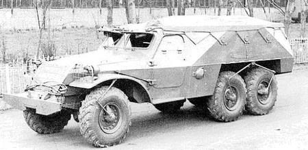 БТР-152 с внешней «подкачкой»