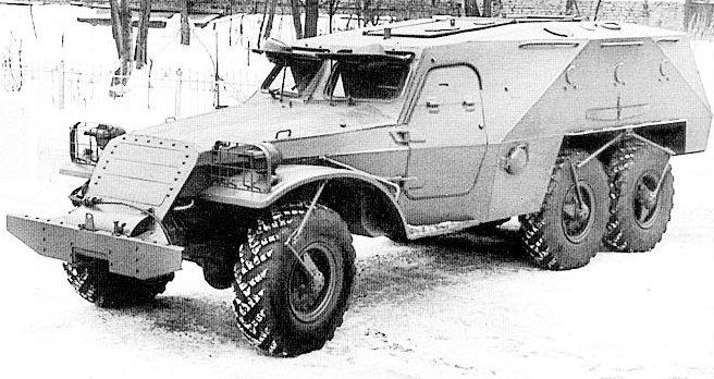 БТР-152К. Опытный образец