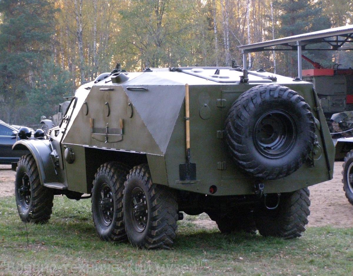 БТР-152 в музее Черноголовка